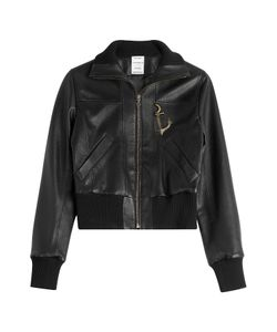 Anthony Vaccarello | Leather Jacket Gr. Fr 36