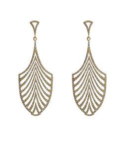Ileana Makri | 18-Karat And Diamond Escape Earrings Gr. One