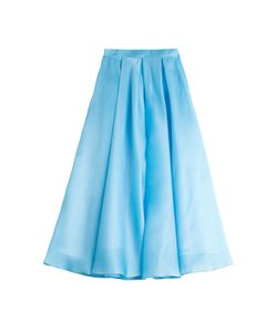 Ostwald Helgason | Silk Organza Skirt With Mesh Underlay Gr. Uk 8