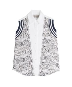 Preen | Cotton Shirt With Lace Gr. S