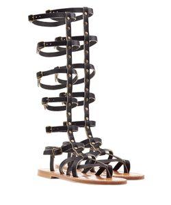 K. Jacques   Appiap Leather Sandals Gr. It 39
