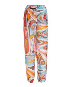 Emilio Pucci | Printed Silk Pants Gr. It 42