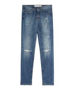 Victoria Beckham Denim | Distressed Skinny Ankle Jeans Gr. 25