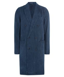 Blue Blue Japan | Swede Chester Cotton Coat Gr. Xl