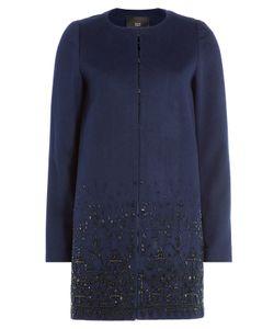 Steffen Schraut | 5th Avenue Embellished Wool Coat Gr. De 46