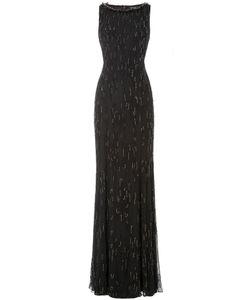 Jenny Packham | Embellished Floor-Length Silk Gown Gr. Uk 10