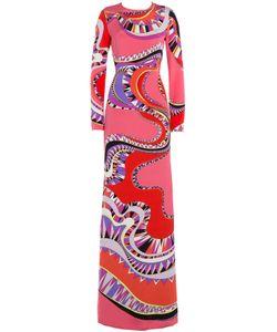 Emilio Pucci | Printed Silk Maxi Dress Gr. It 44