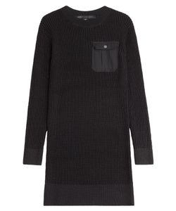 Marc by Marc Jacobs | Knitted Cotton-Silk Sweater Dress Gr. L