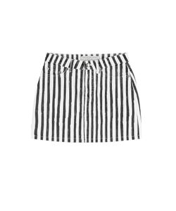 Marc by Marc Jacobs | Striped Denim Skirt Gr. 27