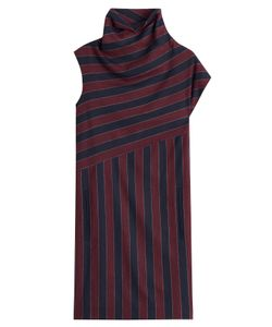 Carven | Striped Dress With Wool Gr. Fr 36