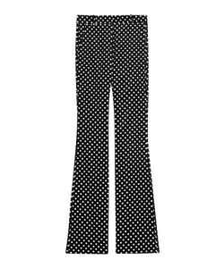 Roberto Cavalli | Printed Cotton Flares Gr. It 40
