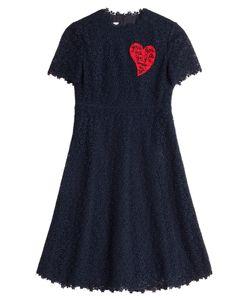 Valentino | Print Crocheted Cocktail Dress Gr. It 40