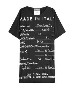 Moschino | Printed T-Shirt Dress Gr. It 36