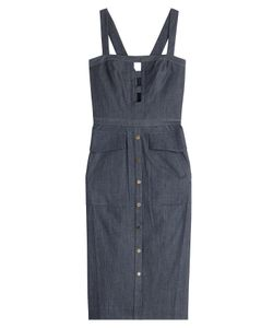 TAMARA MELLON | Denim Dress With Cut-Out Detail Gr. Us 6