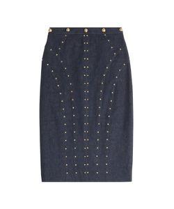 TAMARA MELLON | Denim Skirt With Studs Gr. Us 2