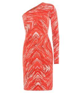 Missoni | Zigzag Print Wool One-Shoulder Dress Gr. It 40