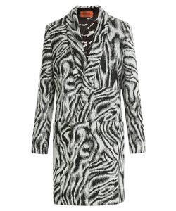Missoni | Zebra Print Wool Coat Gr. It 38