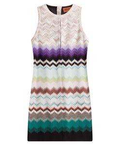 Missoni | Crochet Knit Mini Dress With Cut Out Gr. It 48