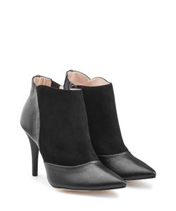 Repetto | Leather And Suede Ankle Boots Gr. Fr 41
