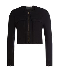 Roland Mouret | Cropped Jacket With Wool Gr. Uk 12