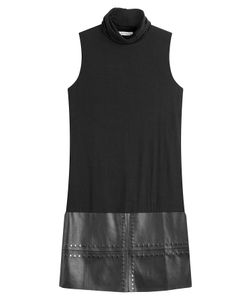 Bailey 44 | Mixed Media Faux Leather Mini-Dress Gr. S