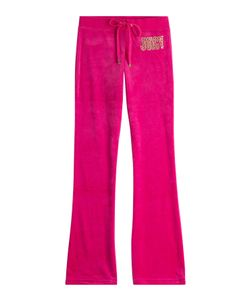 Juicy Couture | Embellished Velour Track Pants Gr. Xs