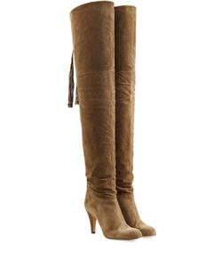 Chloe | Suede Over-The-Knee Boots Gr. It 38