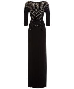 Jenny Packham | Embellished Floor-Length Gown Gr. Uk 10