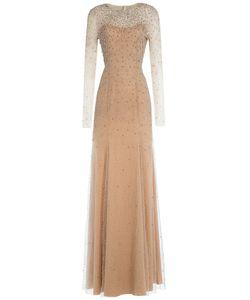 Jenny Packham   Embellished Floor-Length Gown Gr. Uk 12