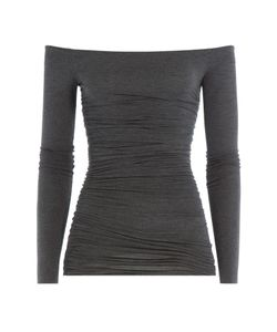 Bailey 44 | Draped Jersey Top With Bardot Shoulders Gr. M