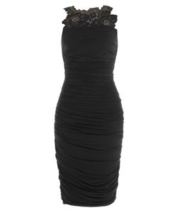 Bailey 44 | Ruched Dress With Lace Inserts Gr. S