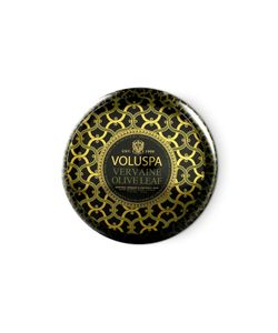 Voluspa | 2 Wick Maison Metallo Vervaine Olive Leaf Candle Gr. One