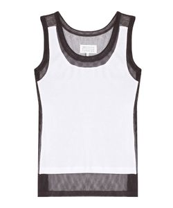 Maison Margiela | Cotton Mesh Panel Tank Top Gr. Xs