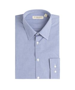 Burberry London | Micro Check Print Cotton Shirt Gr. Us/Uk 16