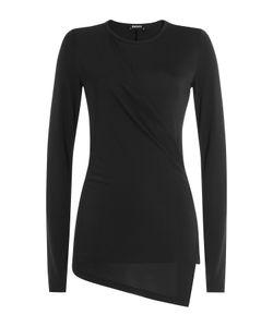 DKNY   Jersey Top With Asymmetric Hem Gr. L