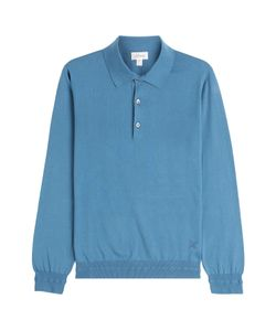 Brioni | Cotton Pullover With Buttons Gr. Eu 48