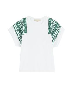 Vanessa Bruno | Embroidered Cotton Top Gr. S