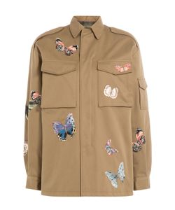Valentino | Butterfly Printed Cotton Jacket Gr. It 40