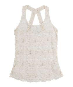 Ondademar | Crochet Lace Tank Top Gr. S