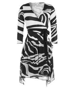 Diane Von Furstenberg | Printed Silk Wrap Dress Gr. Us 10