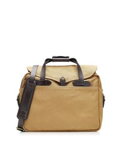 Filson | Padded Twill Laptop Bag With Leather Gr. One