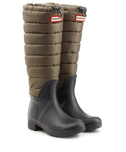 Hunter | Quilted Wellington Boots Gr. Uk 6