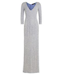 Jenny Packham | Embellished Silk Floor Length Gown Gr. Uk 10