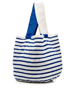 Sophie Anderson | Striped Cotton Tote Gr. One