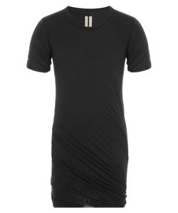 Rick Owens | Draped Cotton T-Shirt Gr. L
