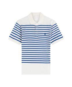 Alexander McQueen | Cotton Striped Polo Shirt Gr. L