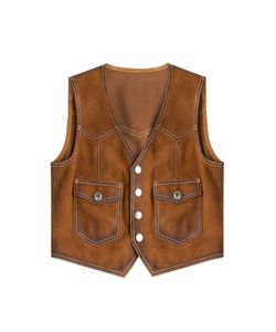 Dsquared2 | Suede Vest Gr. It 42