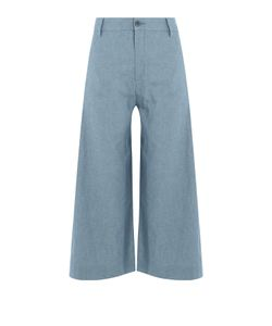 Seafarer   Cotton Wide Leg Culottes Gr. 28