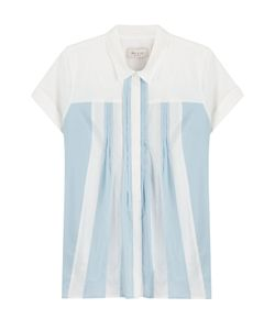 Paul & Joe | Cotton Blouse With Pleats Gr. 4