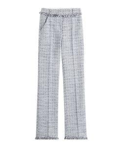 Karl Lagerfeld | Cotton-Blend Straight Leg Trousers Gr. It 42